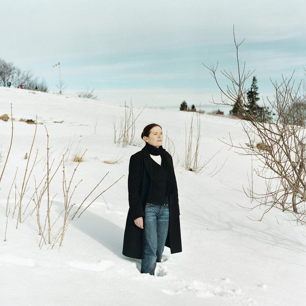 Ulrike Lienbacher, artist, Gaisberg, Salzburg (AT), 02/07