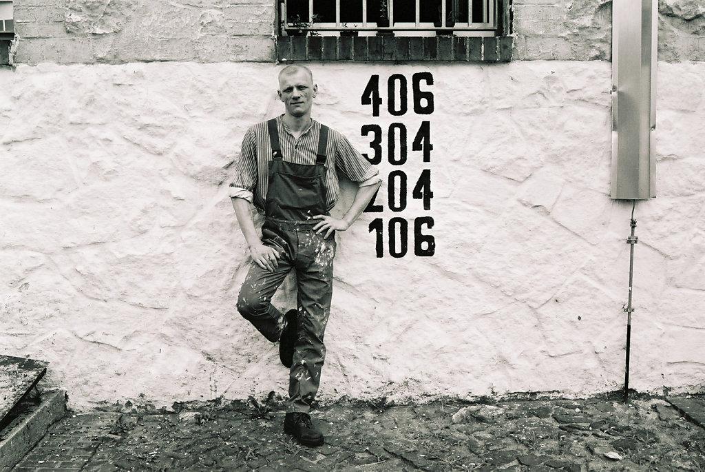 Schwede, Haftgebäude außen, Juni 02