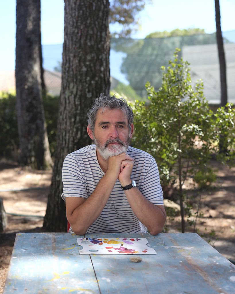 Daniel Blaufuks, artist, Cascais (PT), 2019